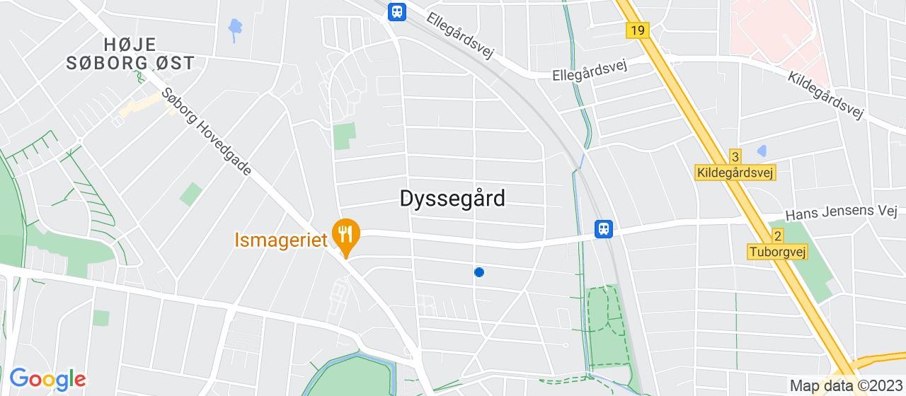 byggefirmaer i Dyssegård