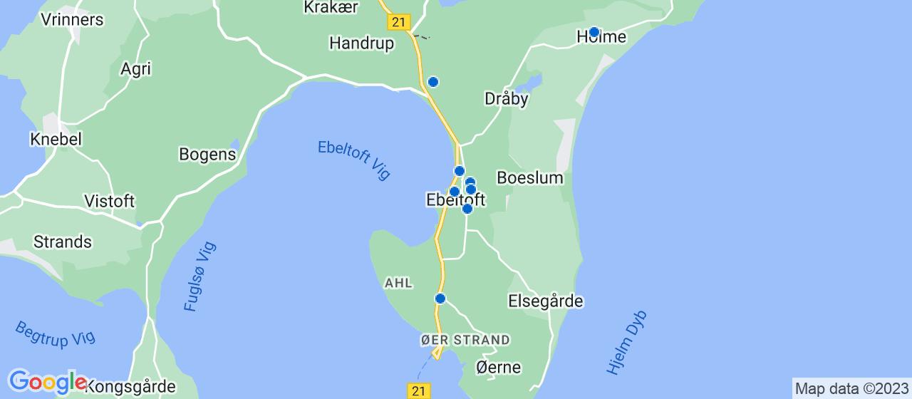 sandblæsning firmaer i Ebeltoft