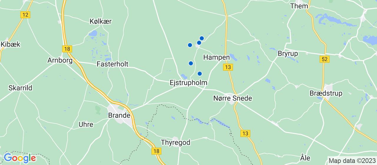 byggefirmaer i Ejstrupholm
