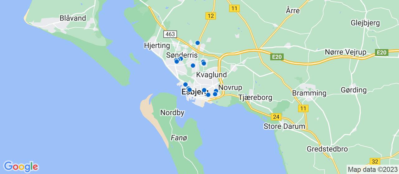 malerfirmaer i Esbjerg