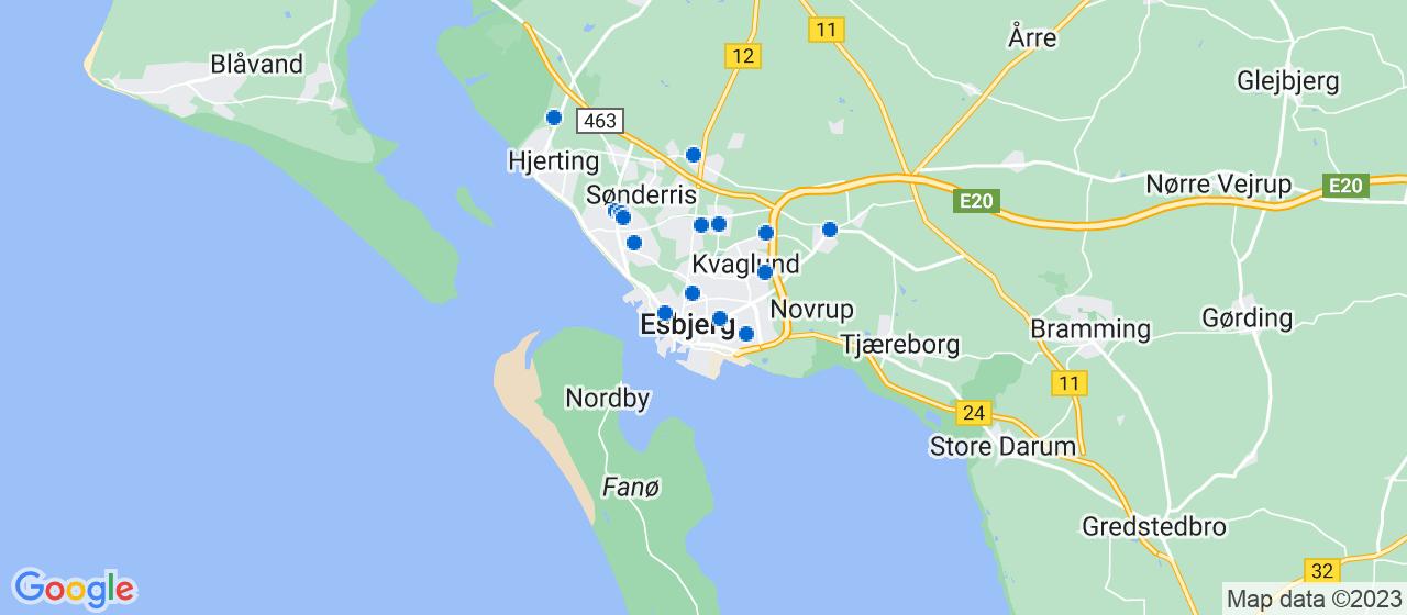 håndværkerfirmaer i Esbjerg