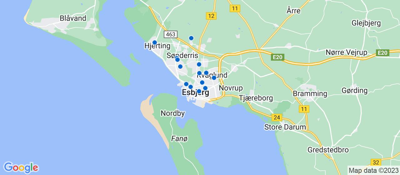 rengøringsfirmaer i Esbjerg