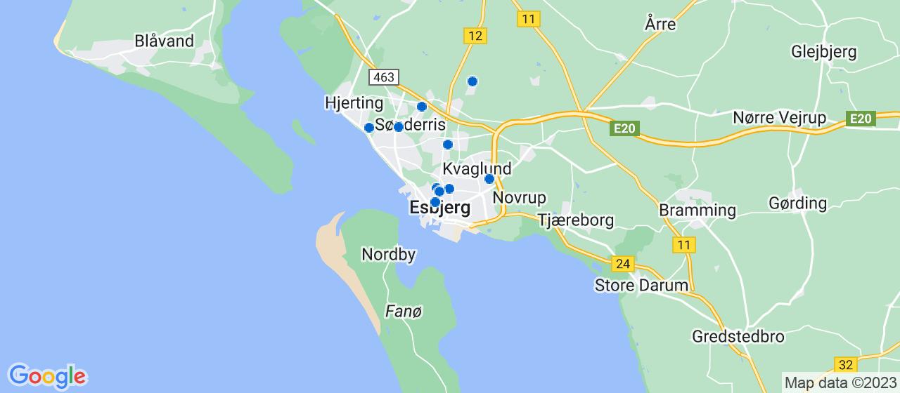 tagdækningsvirksomheder i Esbjerg