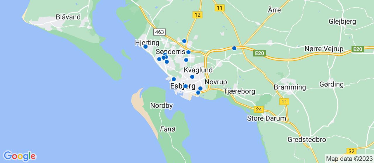 entreprisefirmaer i Esbjerg
