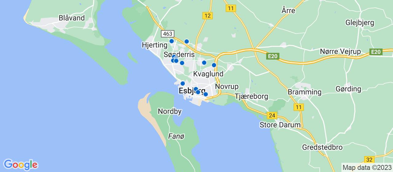murerfirmaer i Esbjerg