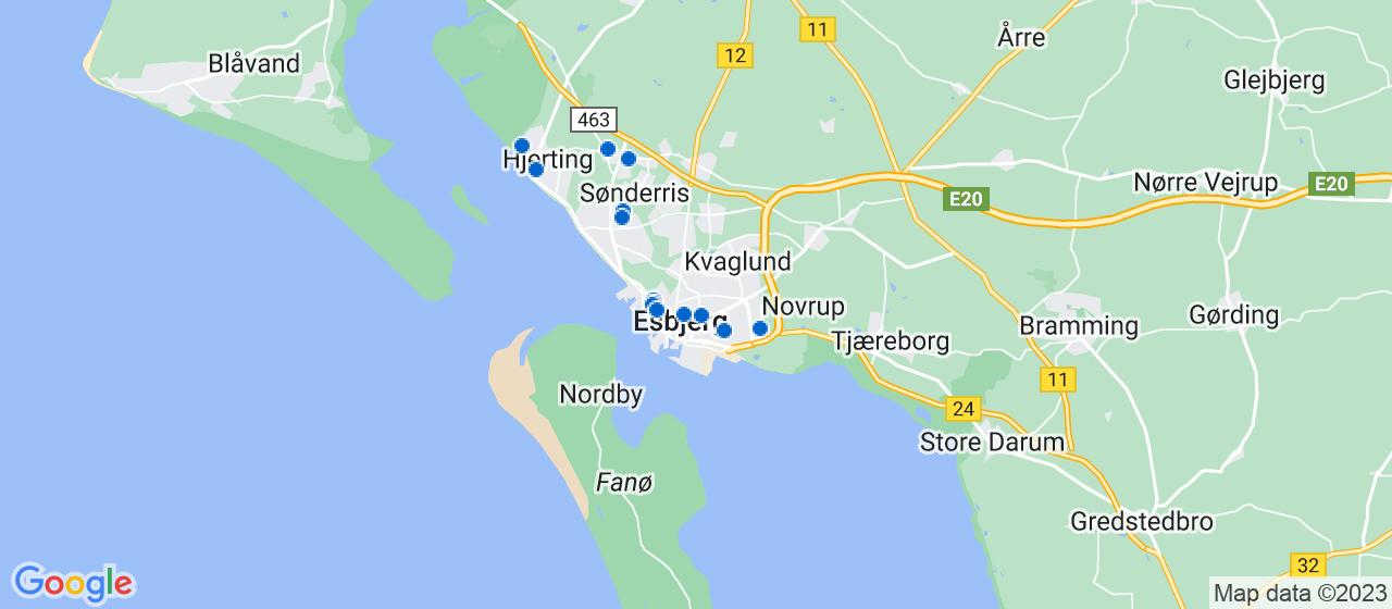 elektrikerfirmaer i Esbjerg