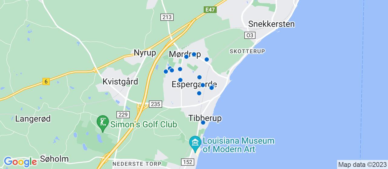byggefirmaer i Espergærde