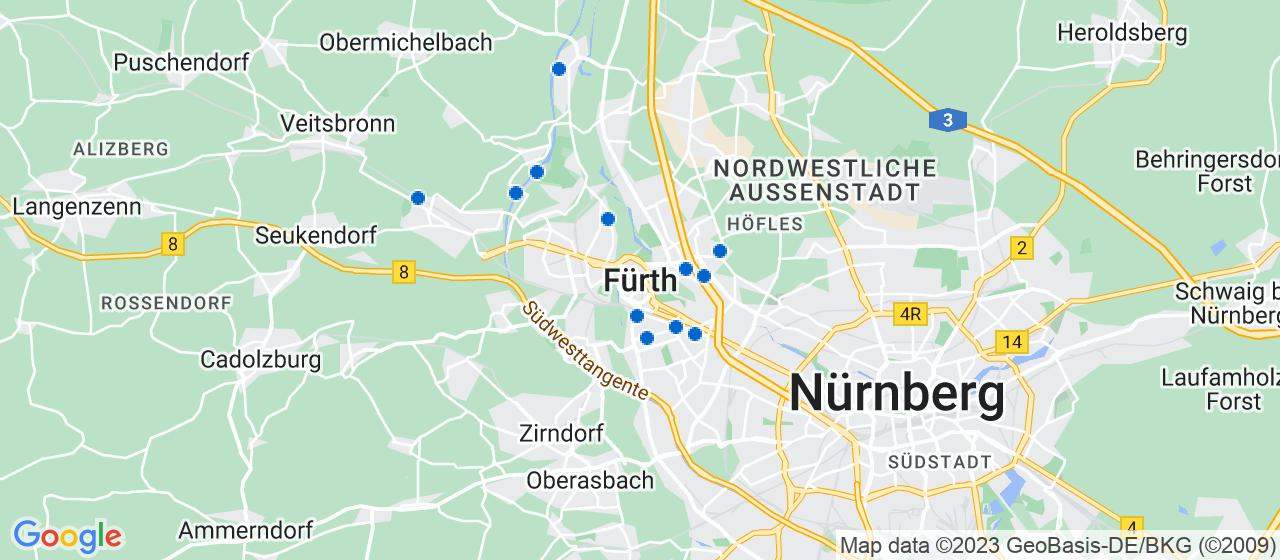 Umzugsunternehmen i Fürth