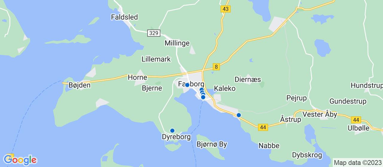 ejendomsmæglerfirmaer i Faaborg