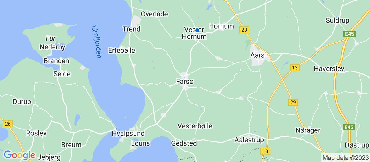 tagrensningsfirmaer i Farsø