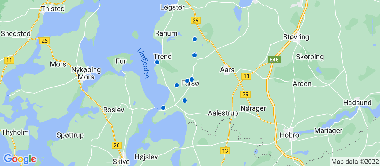varmepumpe firmaer i Farsø
