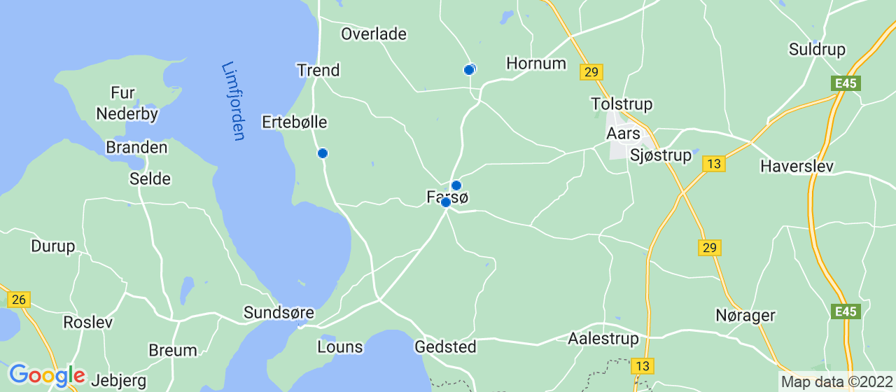 vvsfirmaer i Farsø