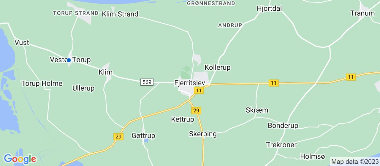 brolægger firmaer i Fjerritslev