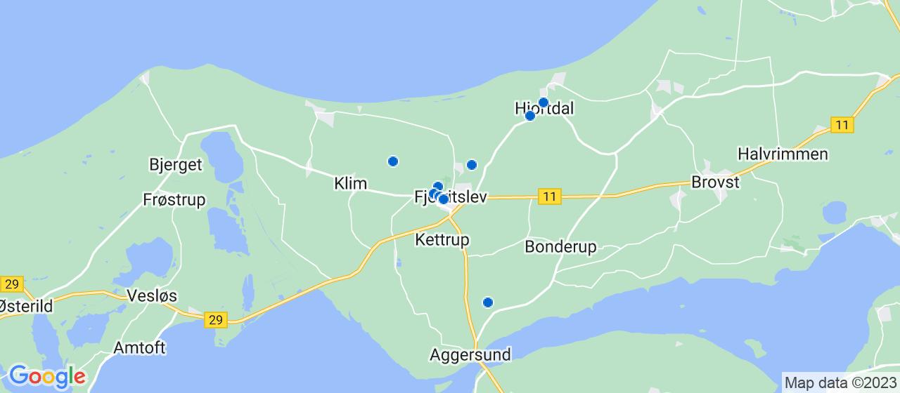 entreprisefirmaer i Fjerritslev