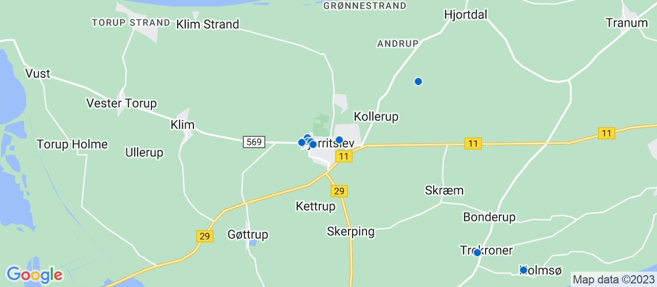 varmepumpe firmaer i Fjerritslev