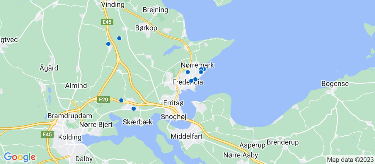 bogholder virksomheder i Fredericia