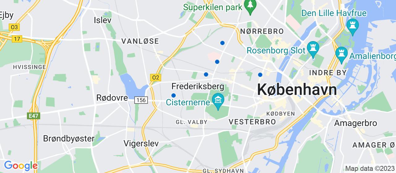 byggefirmaer i Frederiksberg