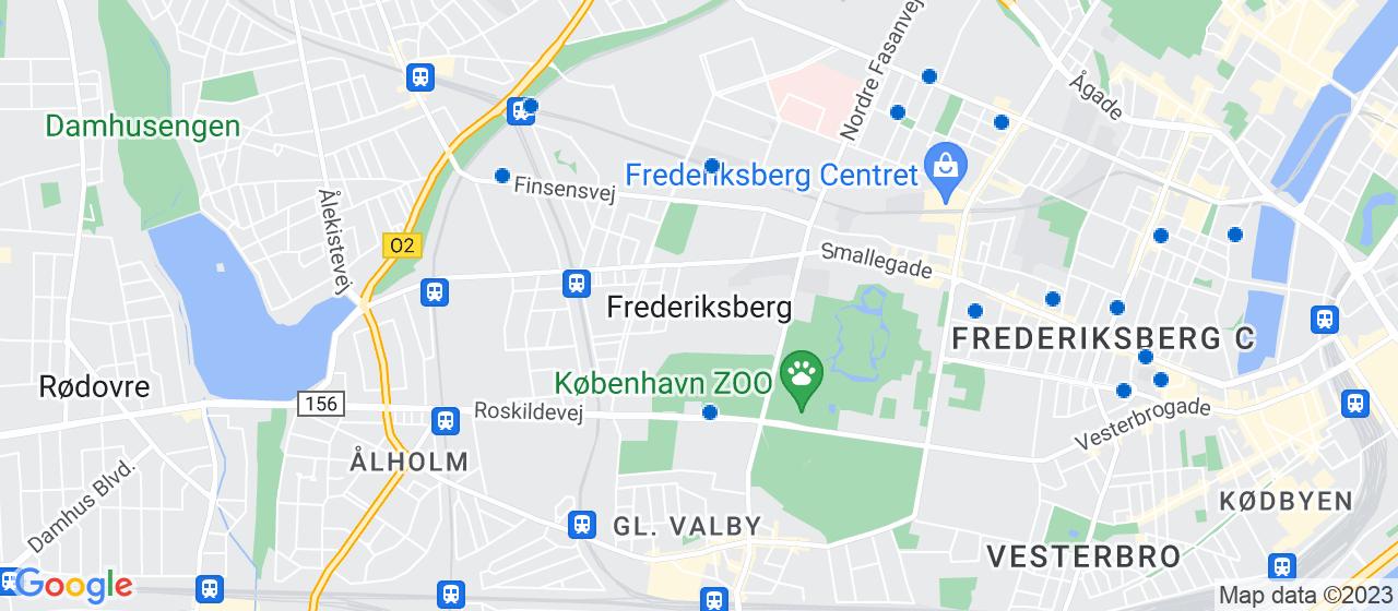 ejendomsservicefirmaer i Frederiksberg