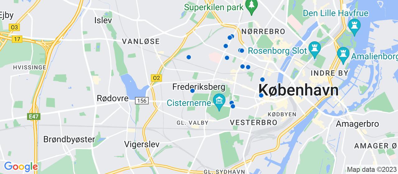 vvsfirmaer i Frederiksberg