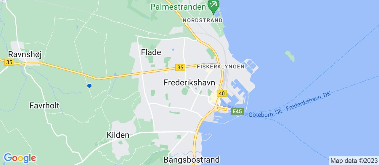 brolægger firmaer i Frederikshavn