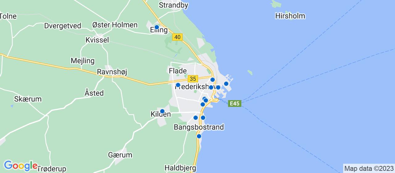 sandblæsning firmaer i Frederikshavn