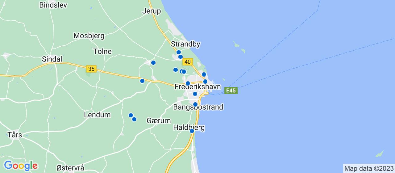 entreprisefirmaer i Frederikshavn