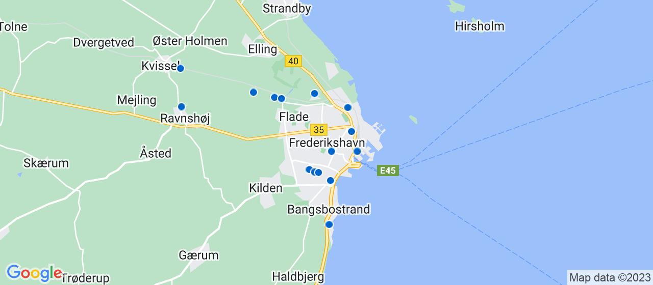 håndværkerfirmaer i Frederikshavn