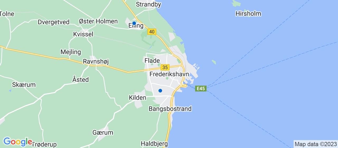 tagrensningsfirmaer i Frederikshavn