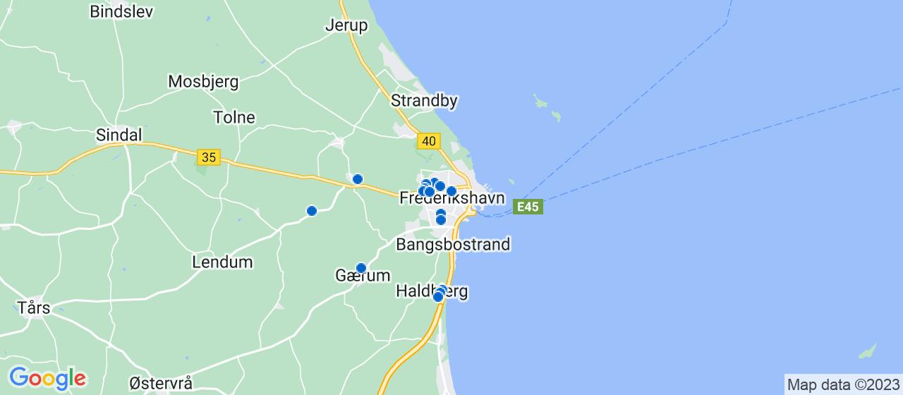 mekaniker firmaer i Frederikshavn