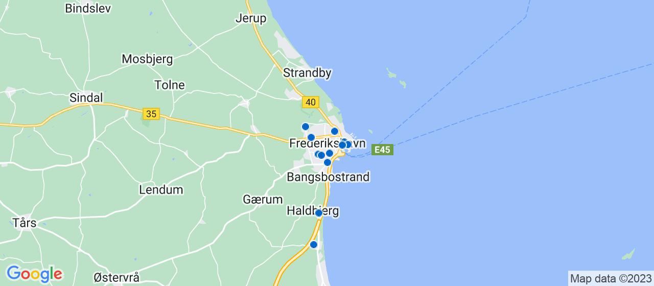 elektrikerfirmaer i Frederikshavn