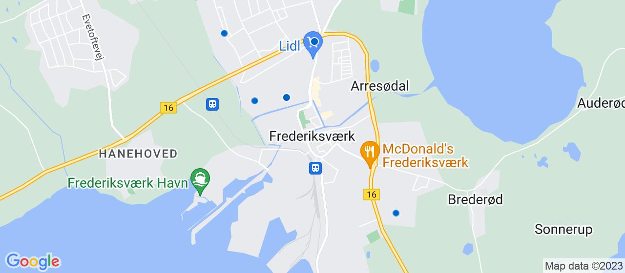 gulvafslibning firmaer i Frederiksværk