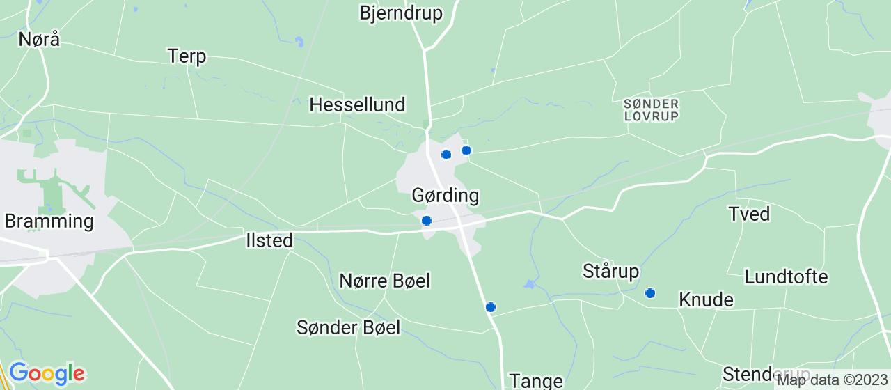 byggefirmaer i Gørding