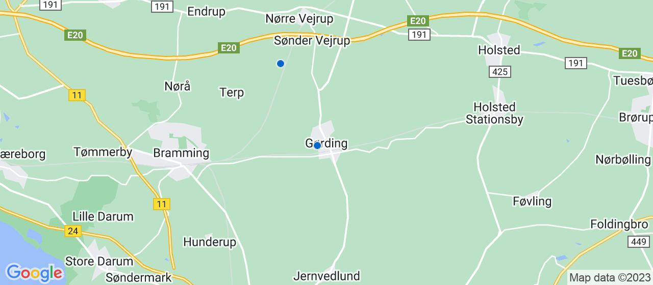 VVS firmaer i Gørding