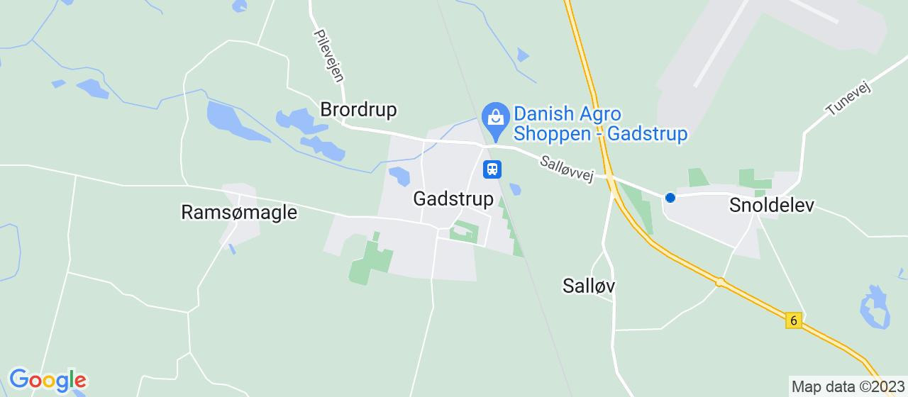 tagrensningsfirmaer i Gadstrup
