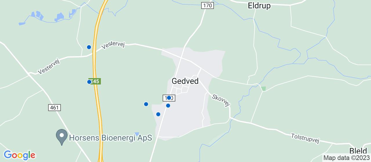 byggefirmaer i Gedved