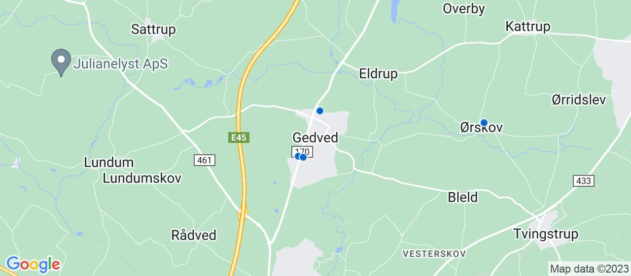 ejendomsservicefirmaer i Gedved