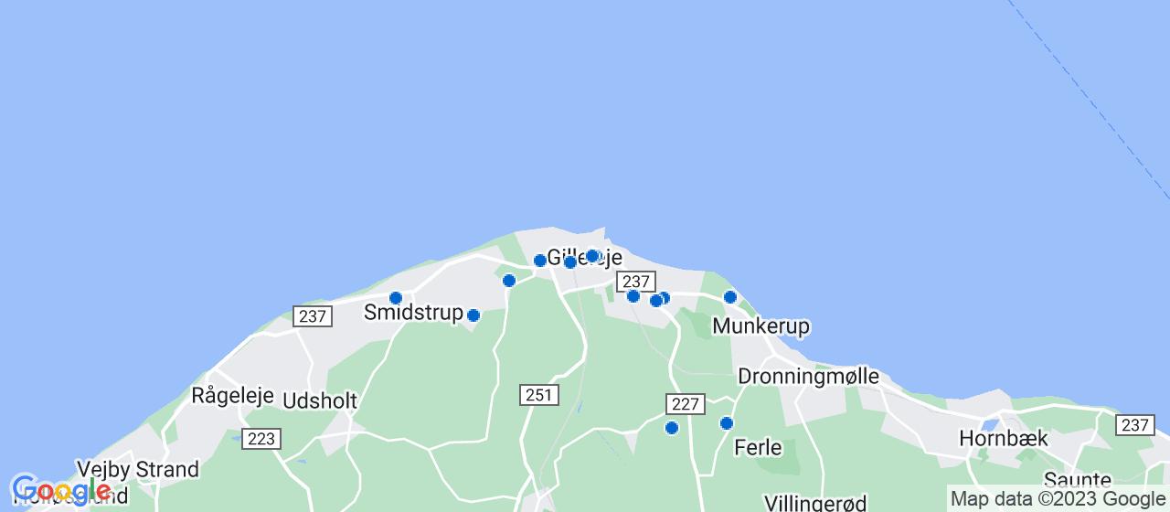 elektrikerfirmaer i Gilleleje