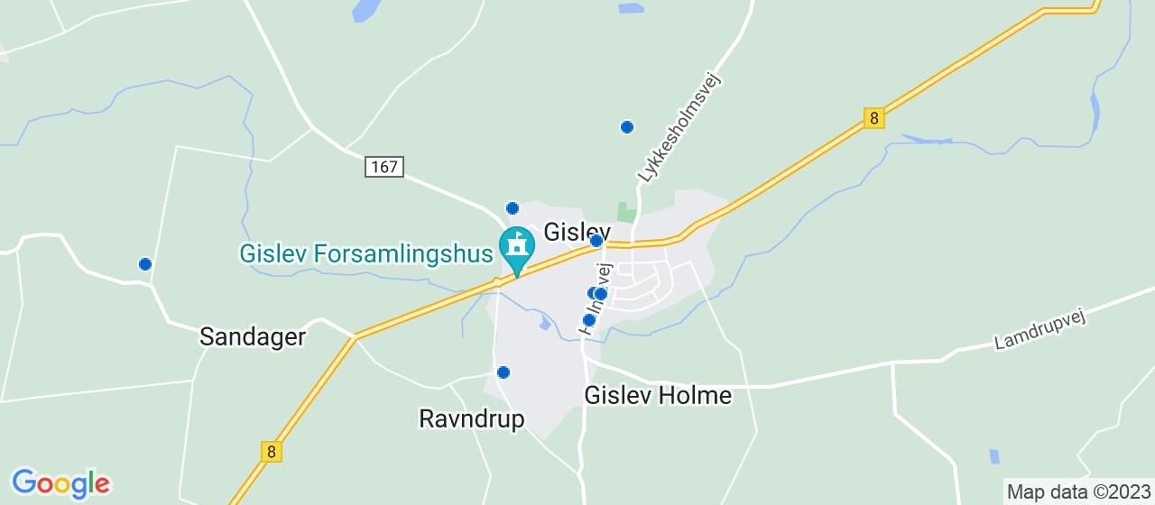 håndværkerfirmaer i Gislev