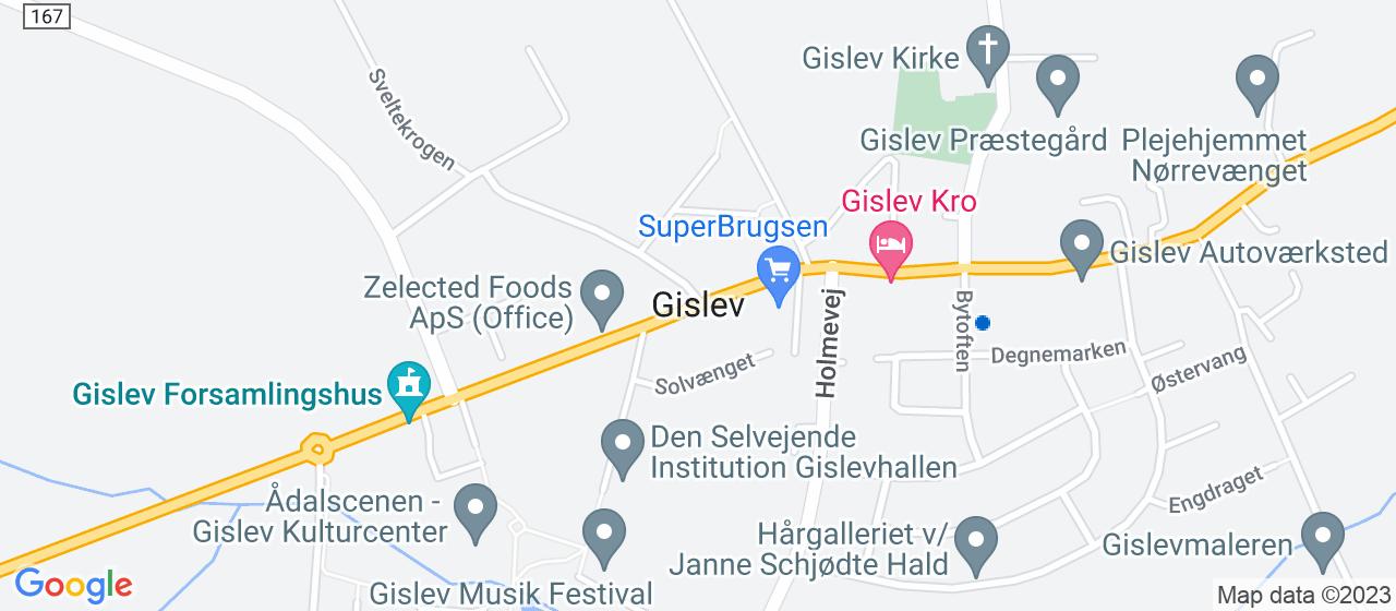 flyttefirmaer i Gislev