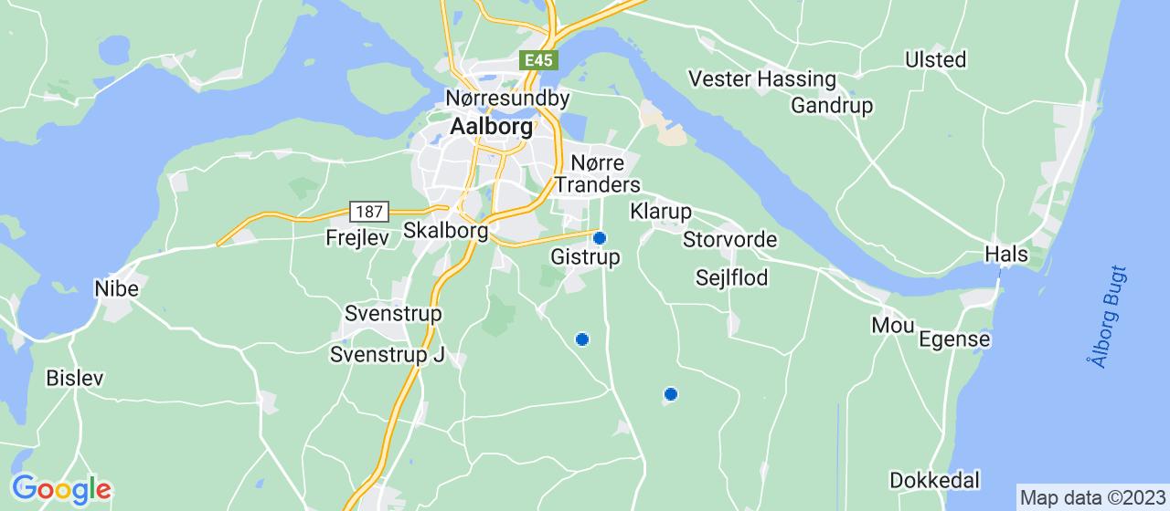vvsfirmaer i Gistrup