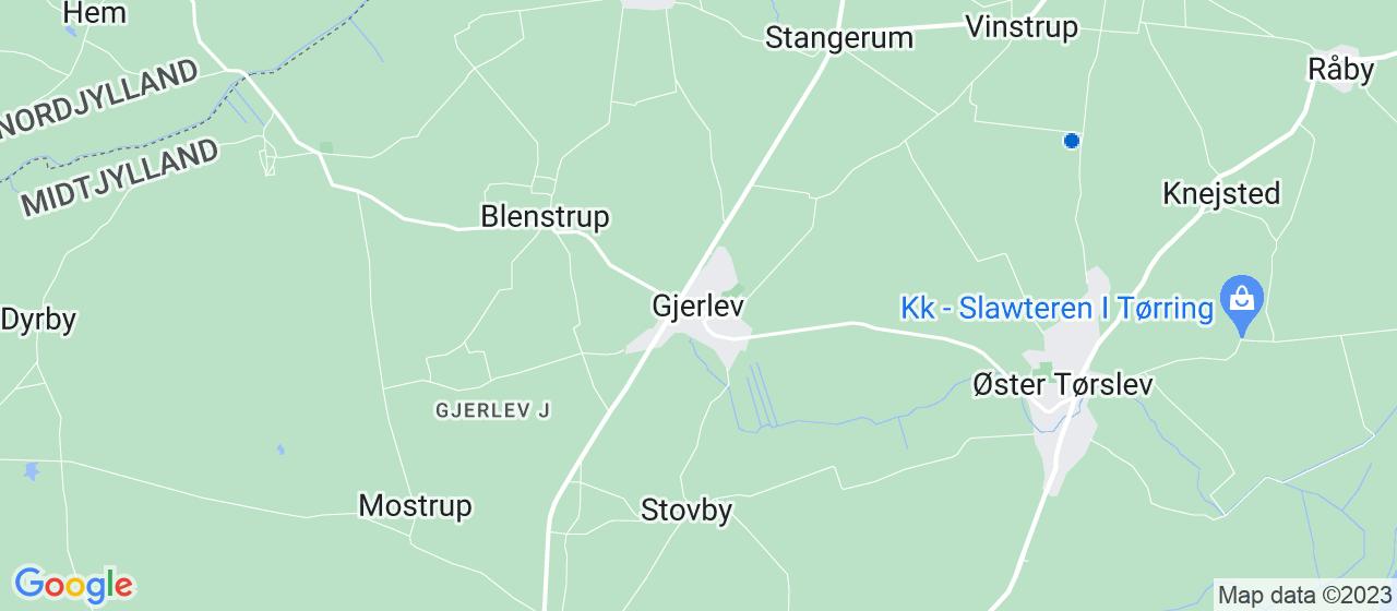 kloakfirmaer i Gjerlev