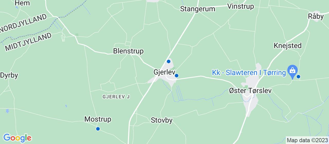 elektrikerfirmaer i Gjerlev