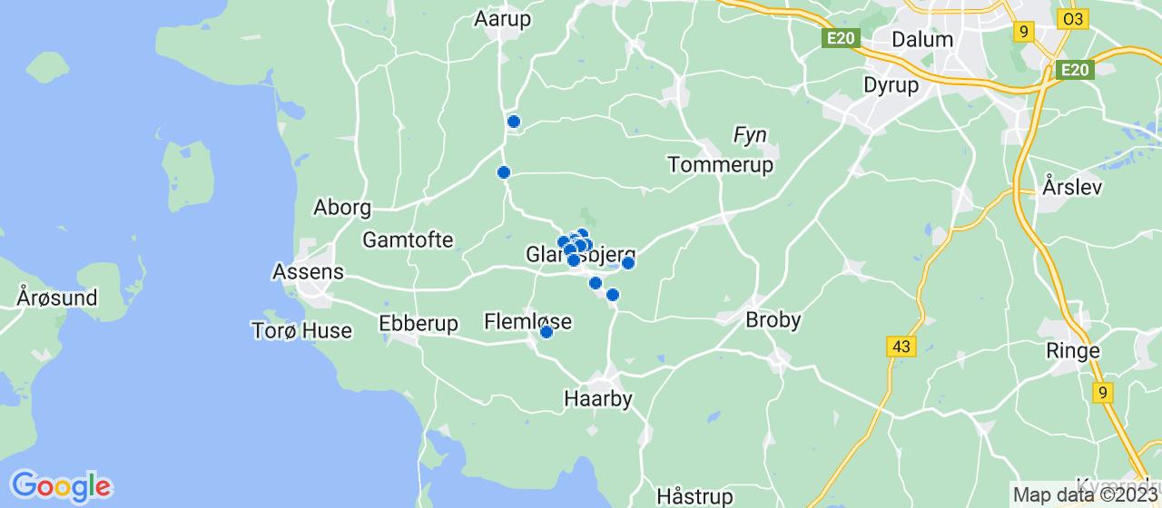 byggefirmaer i Glamsbjerg