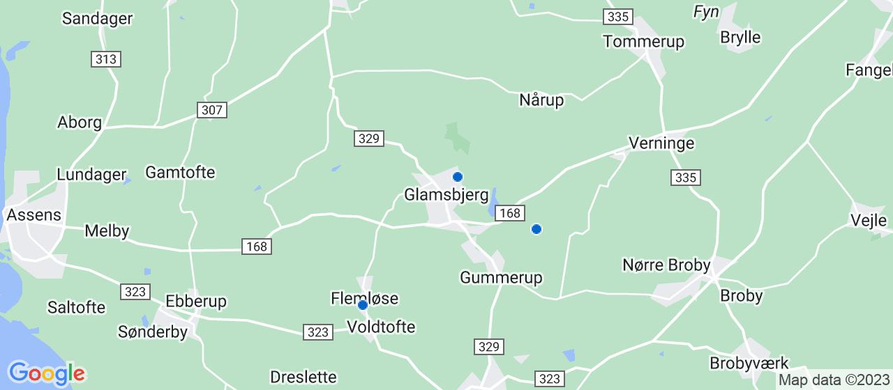 kloakfirmaer i Glamsbjerg