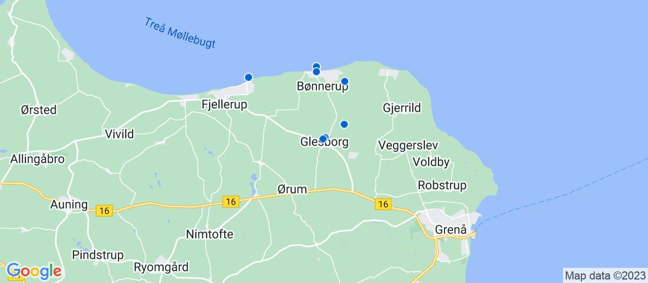 murerfirmaer i Glesborg