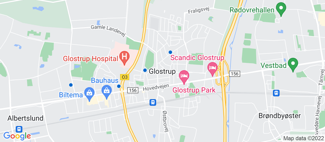 glarmesterfirmaer i Glostrup