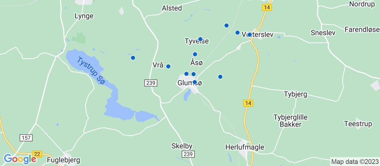 byggefirmaer i Glumsø