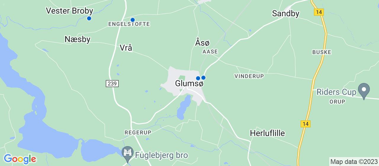 vvsfirmaer i Glumsø