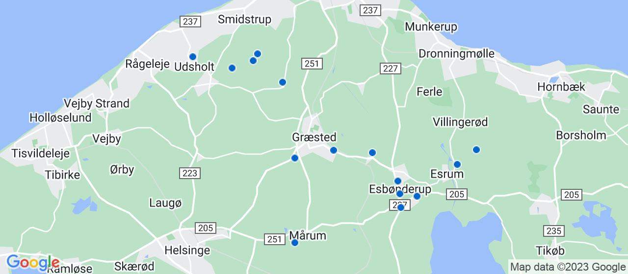 byggefirmaer i Græsted