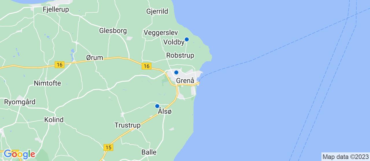 anlægsgartnerfirmaer i Grenaa